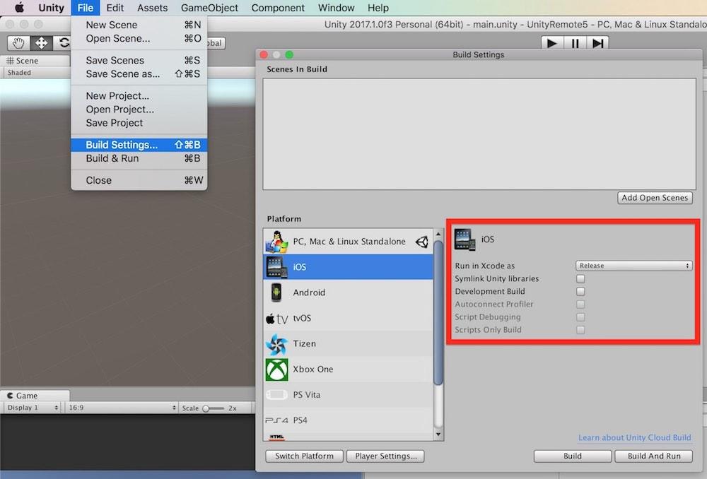 Unity】「Unity Remote 5」の使い方 | VRunner