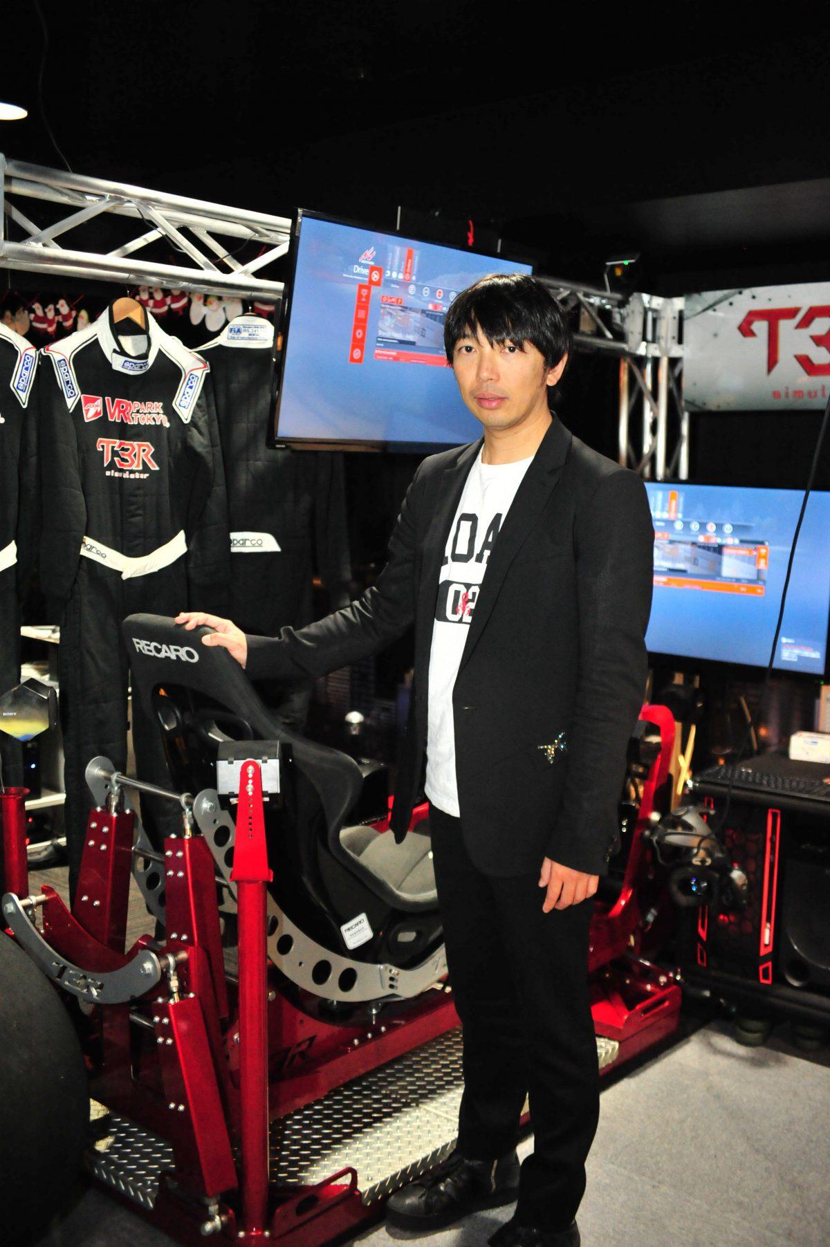 現役プロレーサーが何故VR開発を始めたのか